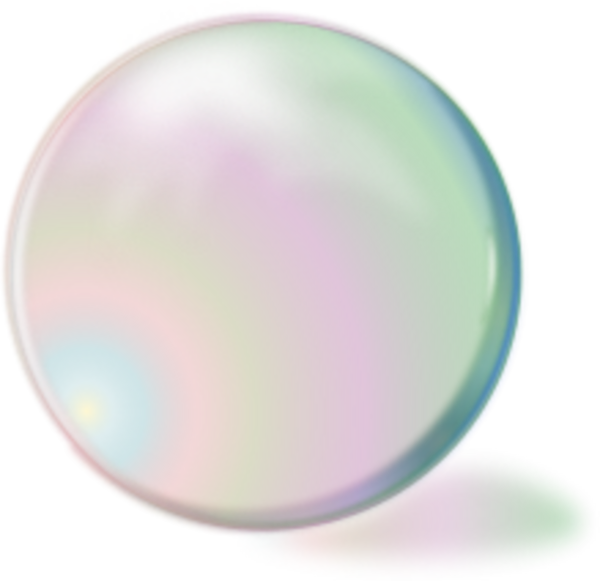 Silver Bubble Png image #44355