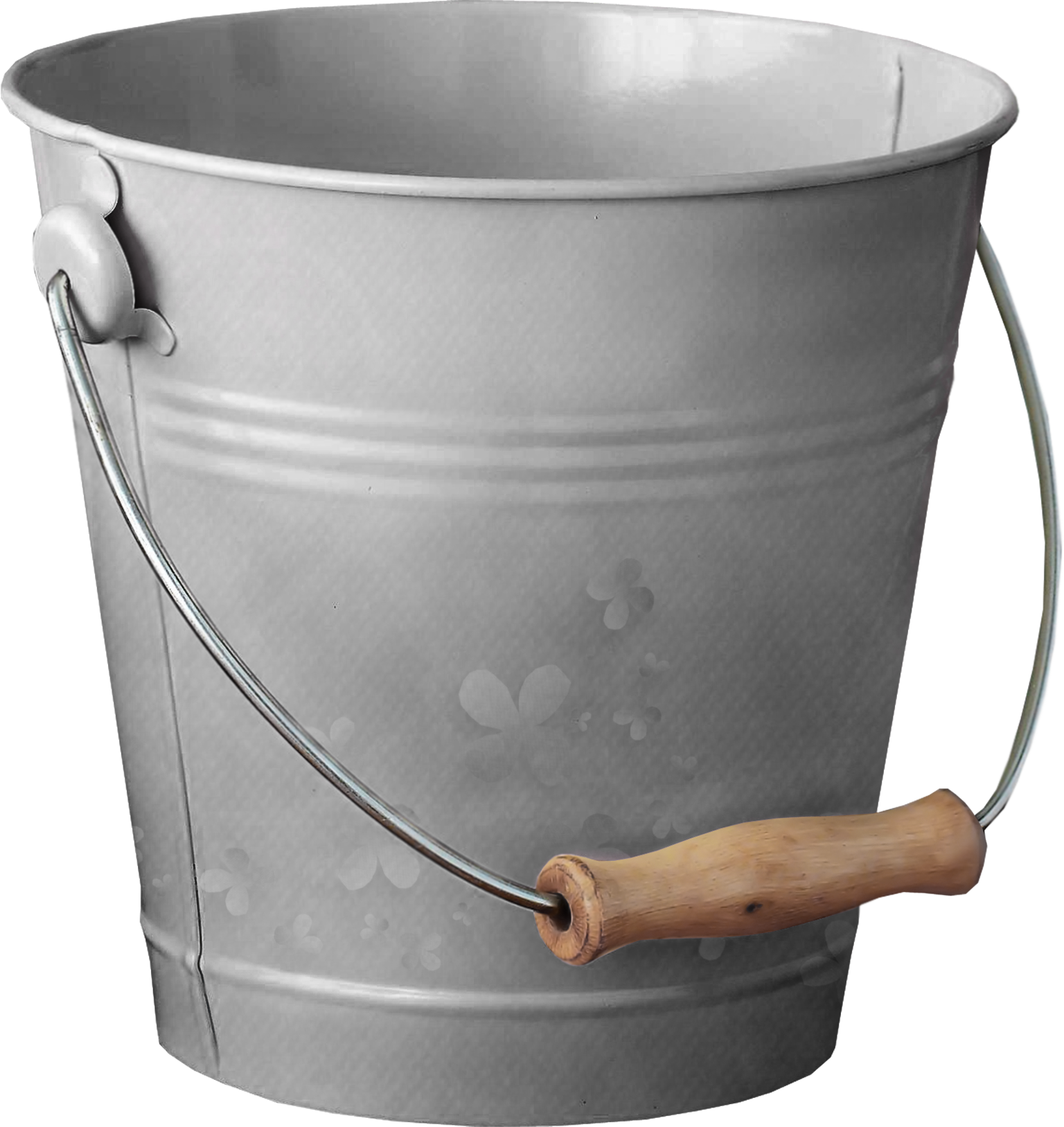 Silver Bucket, Water, Sand PNG image #48904