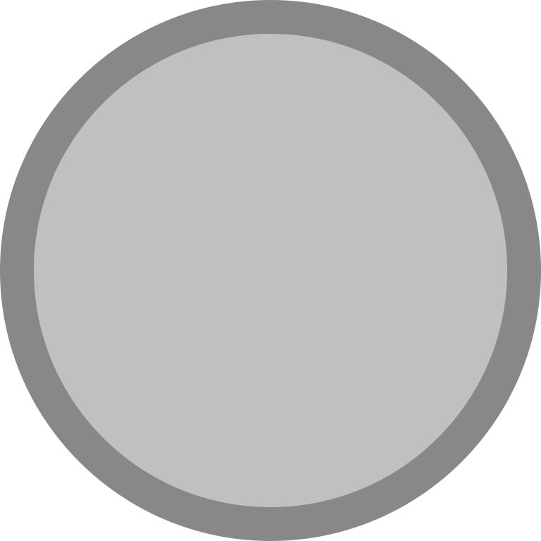 Silver medal icon blank