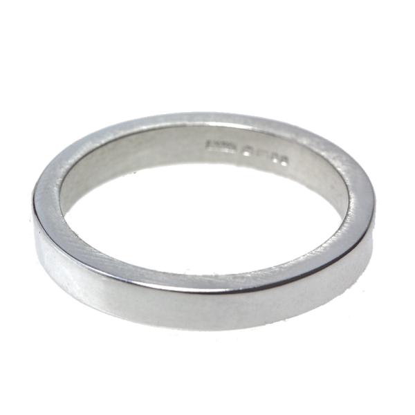 Silver One Wedding Rings Png