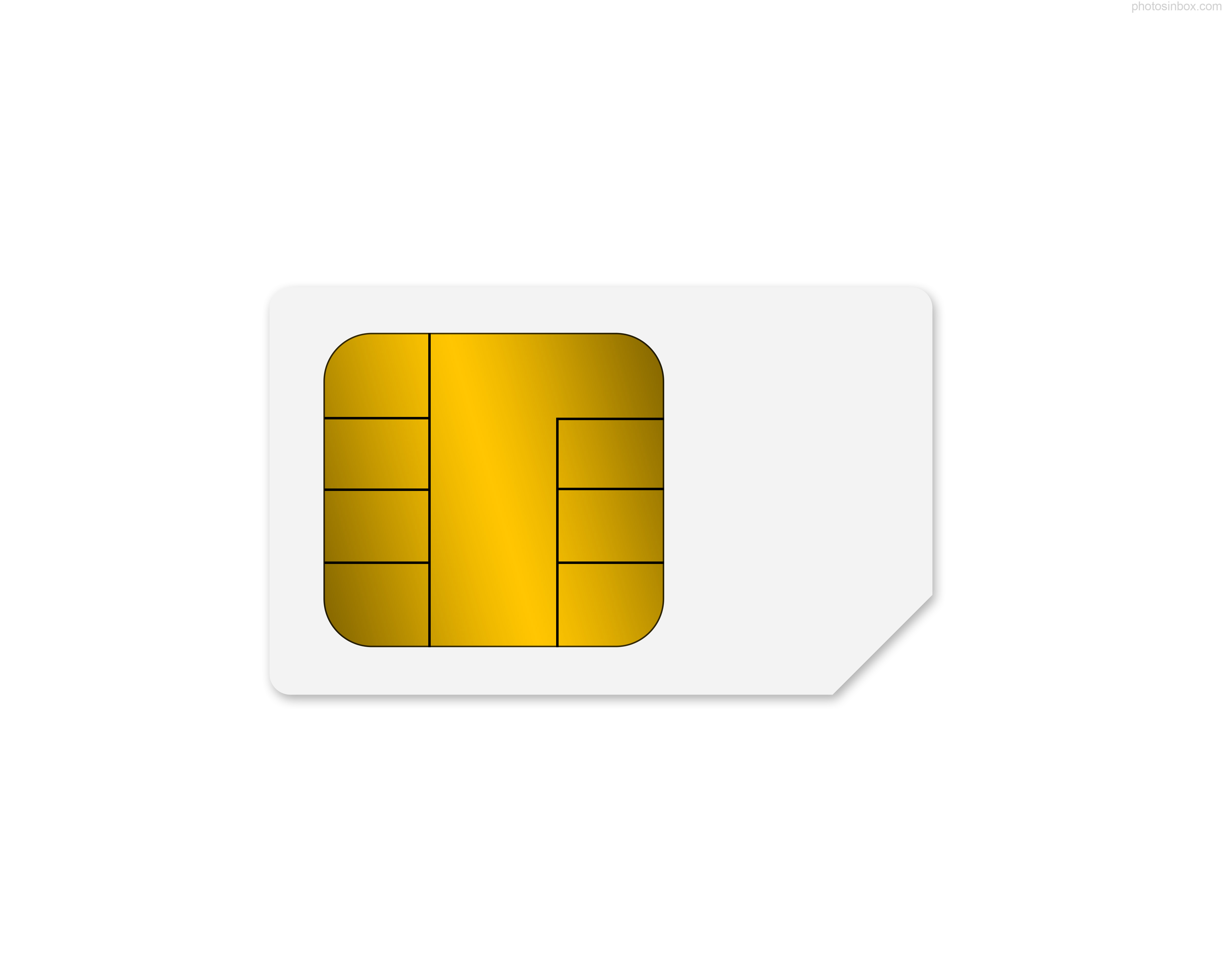 Photos Sim Card Icon image #25734