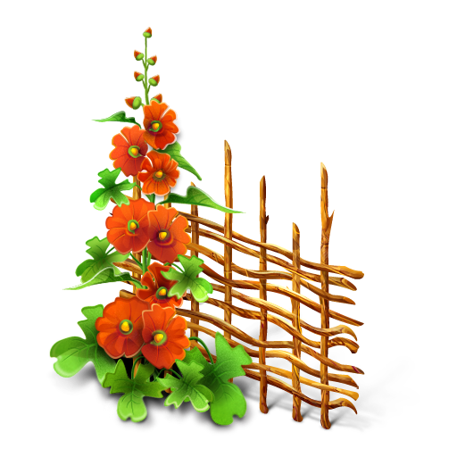 Similar Icons With These Tags: Flowers Flower Fence image #2135