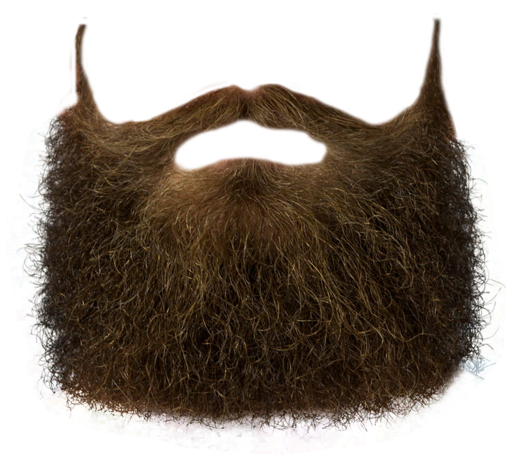 Simple Beard Png image #44570