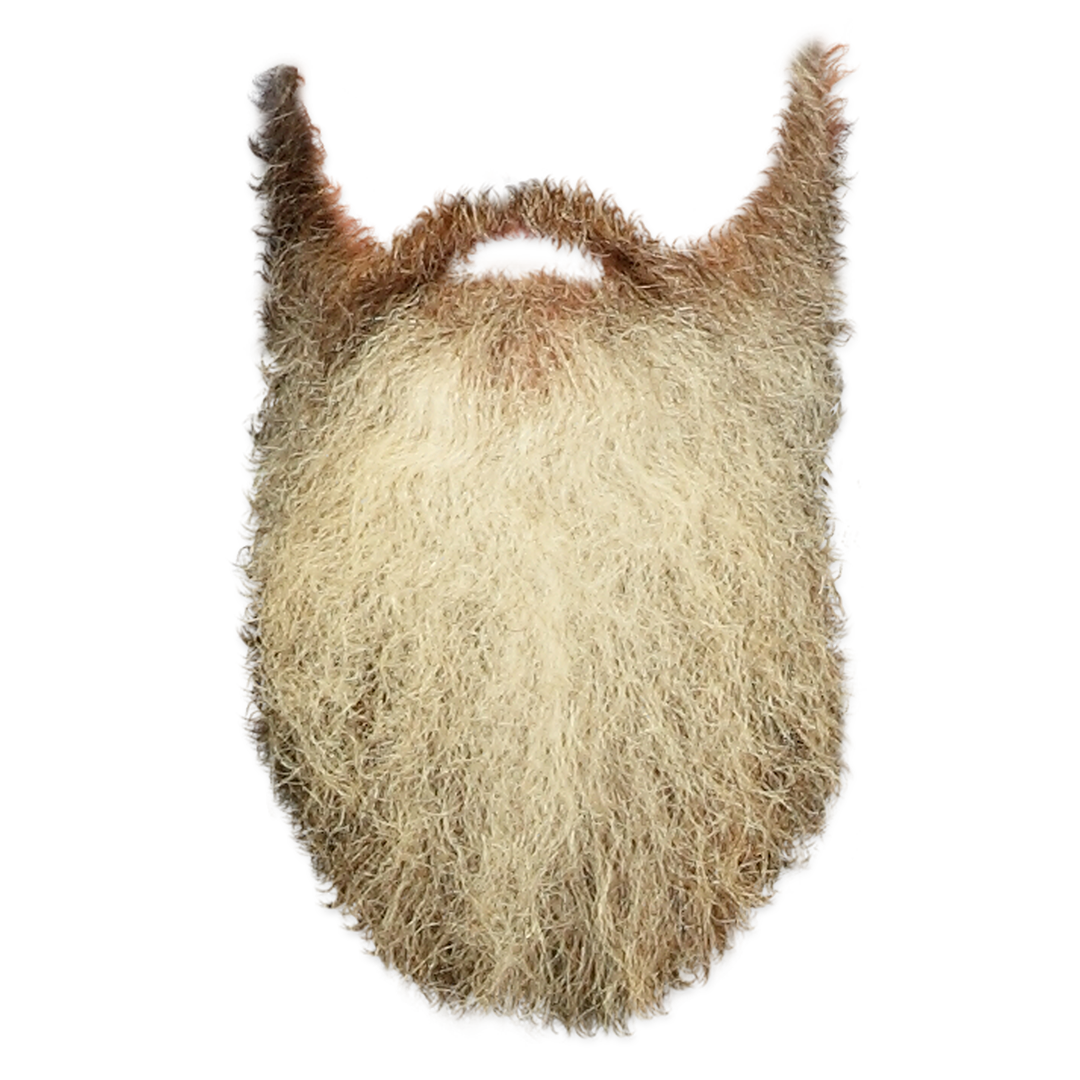 simple brown beard png