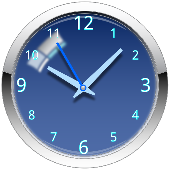 Simple Clock Png image #25757