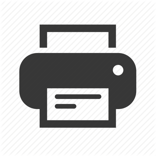Simple Printer Icon image #988