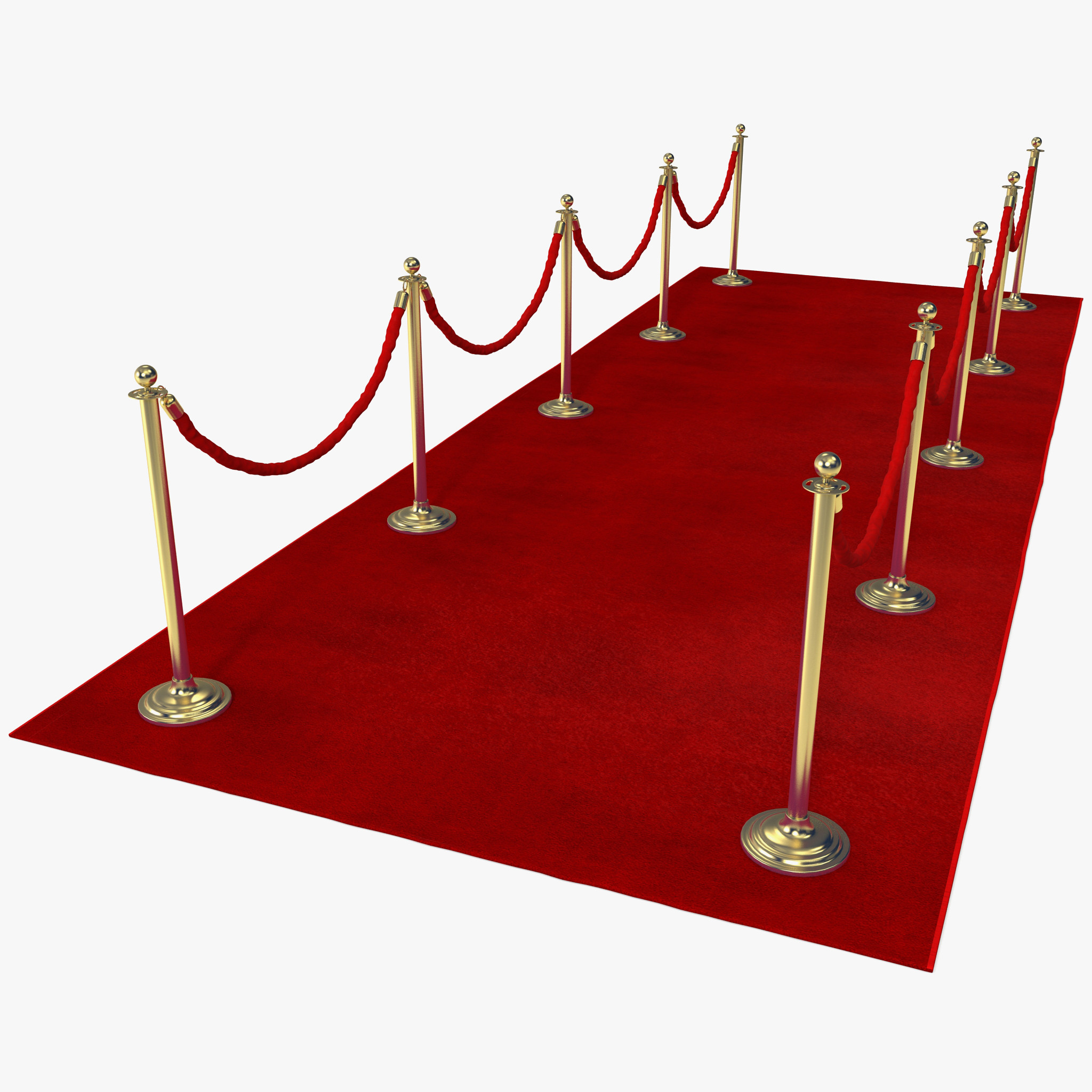 Simple Red Carpet PNG image #37038