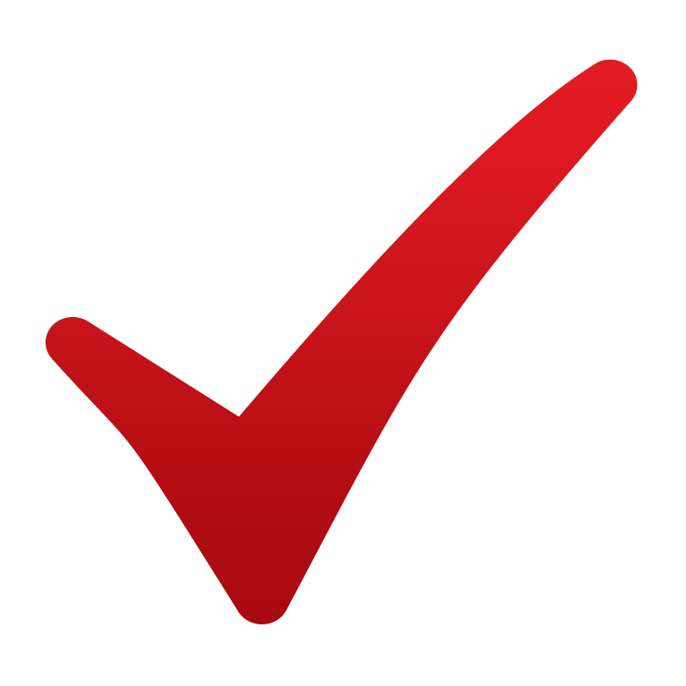 Simple Red Checkmark Png Background image #25981