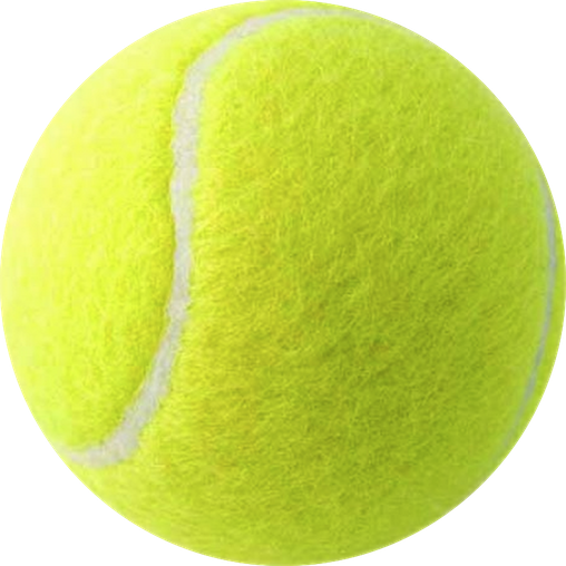 Simple Tennis Ball png