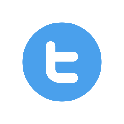 Simple Twitter 16x16 Icon Png image #45594