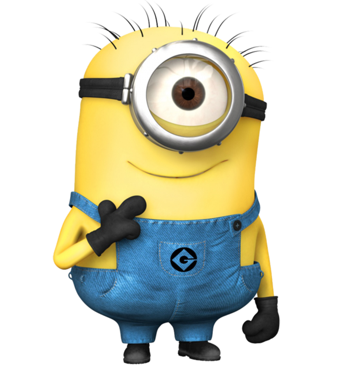 Single Minion Png image #42181