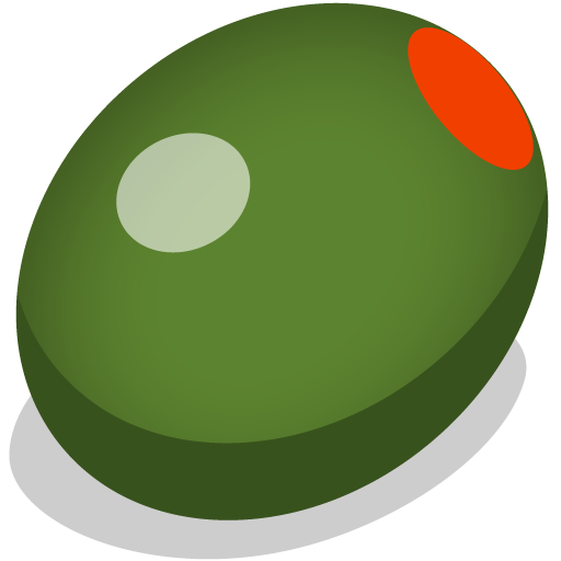 Single Olive Png image #40582