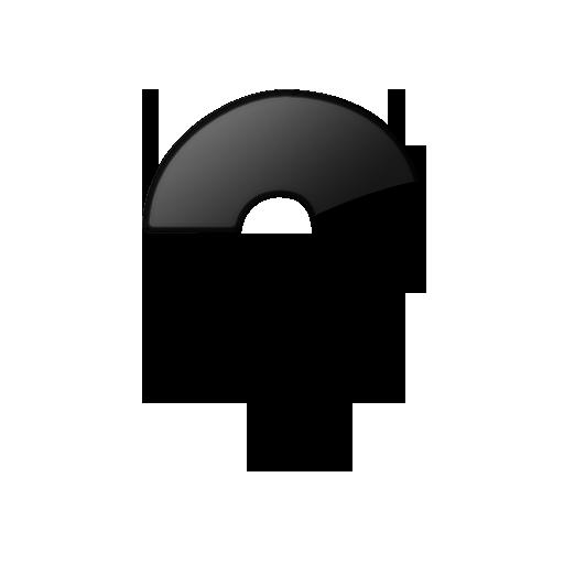 Single Question Mark Icon