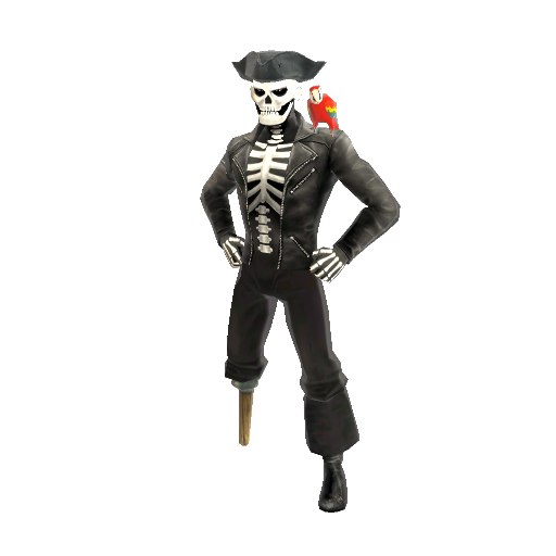 Skeleton Pirate png
