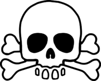 High-quality Skull And Crossbones Cliparts For Free! image #27244