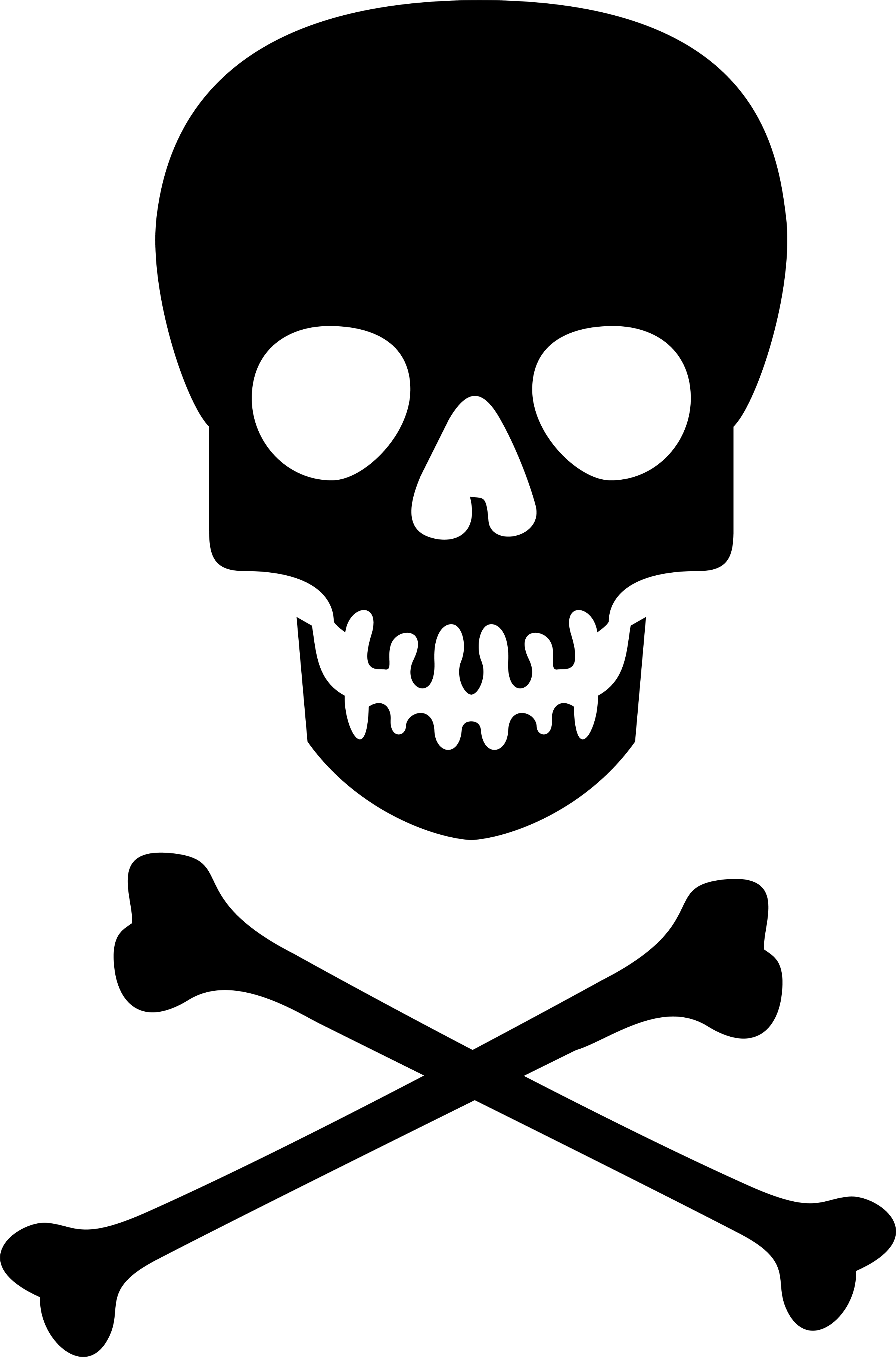 Skull And Crossbones PNG Clipart image #27247