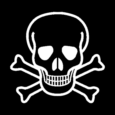 Png Transparent Skull And Crossbones Background Hd image #27234