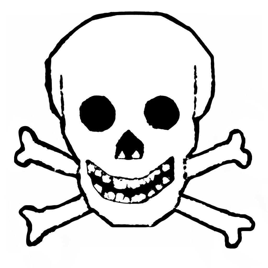High-quality Skull And Crossbones Cliparts For Free! image #27254