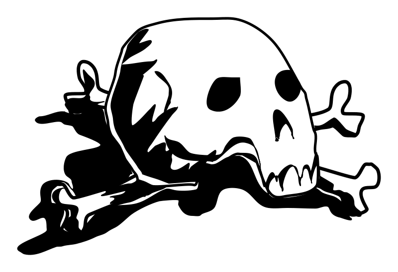 Skull And Crossbones Download PNG Free image #27260