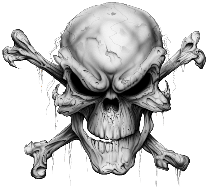 Transparent Skull And Crossbones Background image #27262