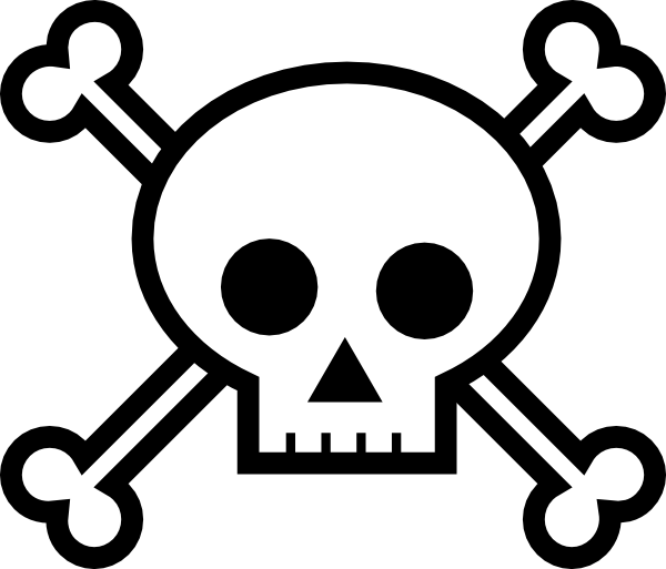 Skull And Crossbones Png Available In Different Size image #27237