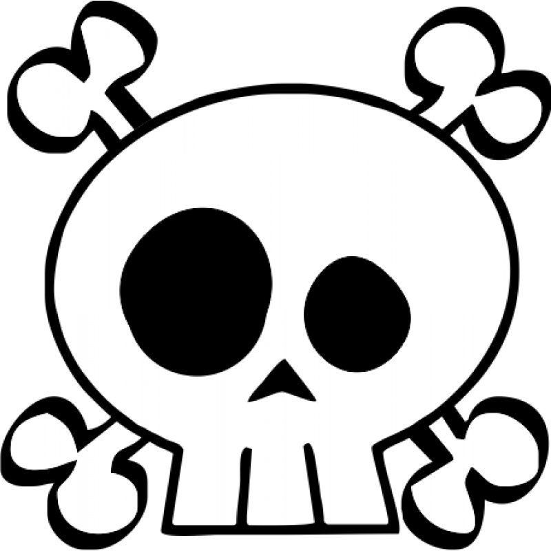 Png Skull And Crossbones Vector image #27241