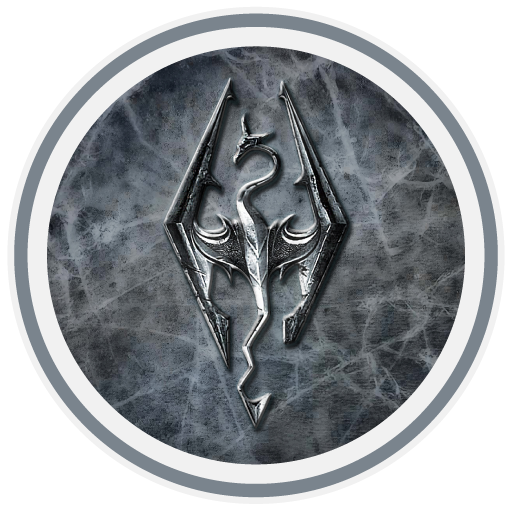 Skyrim Icon Long Tail