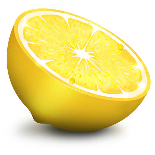 slice lemon png