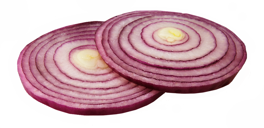 Sliced Onion Png image #38755