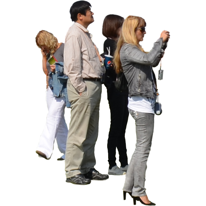 Small Group Of Tourists image #3241