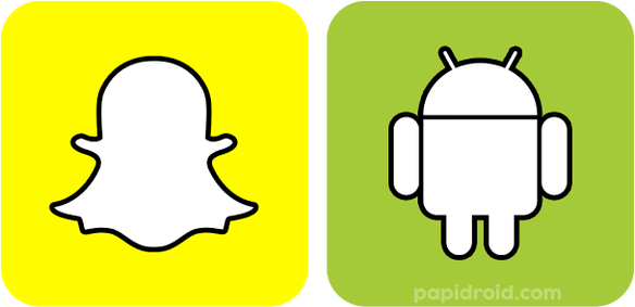 Snapchat And Android Logo Png Images image #46439