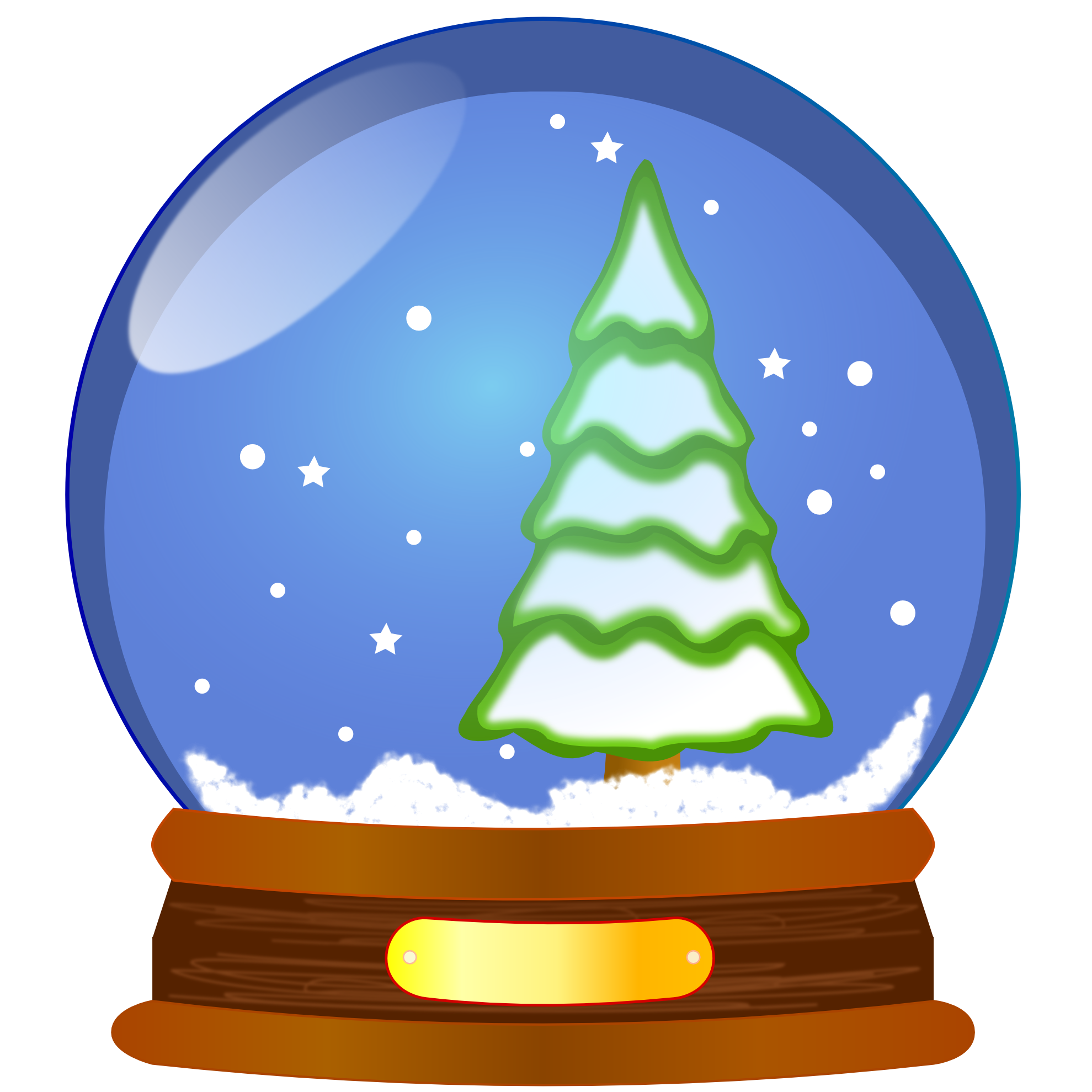 PNG File Snow Globe