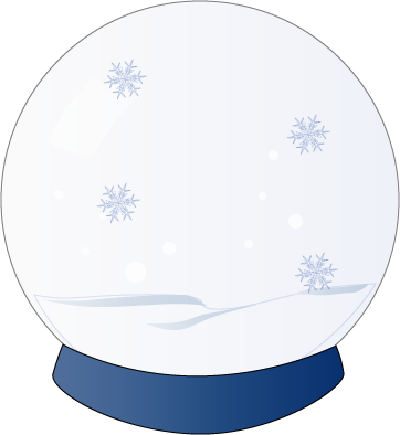 Use These Snow Globe Vector Clipart image #30102