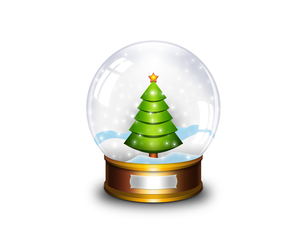 Vector Snow Globe Png image #30105