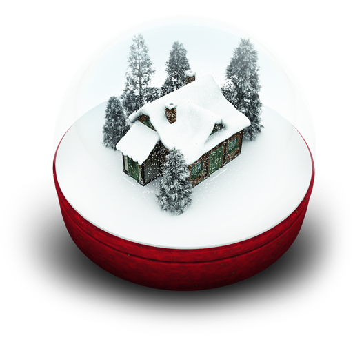 Snow Globe Collection Clipart Png