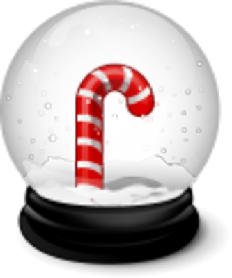 Transparent PNG Snow Globe image #30108