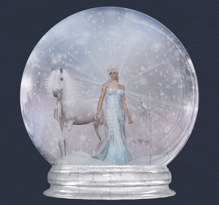 Vectors Snow Globe Icon Free Download image #30109