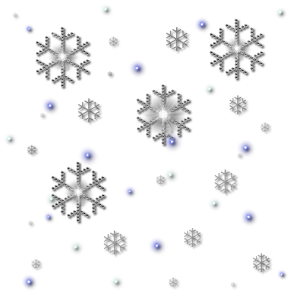 snowflakes falling png