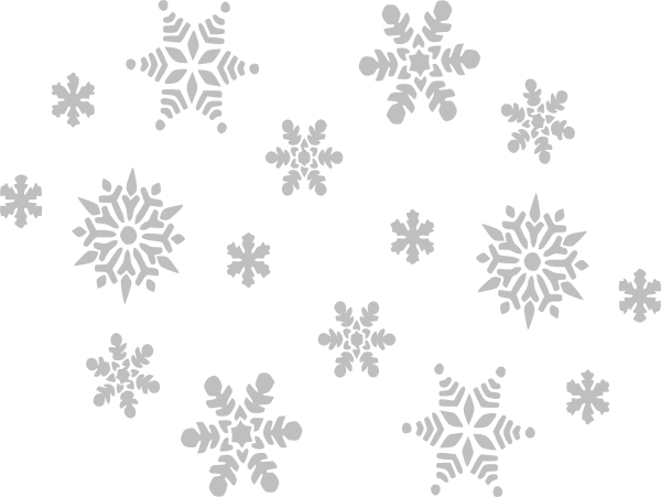 High Resolution Snowflakes Falling Png Icon image #34501