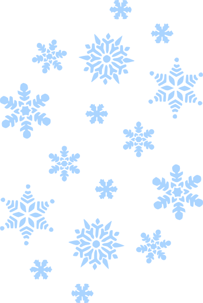 snowflakes falling png image