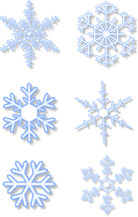 Snowflakes Png image #41271