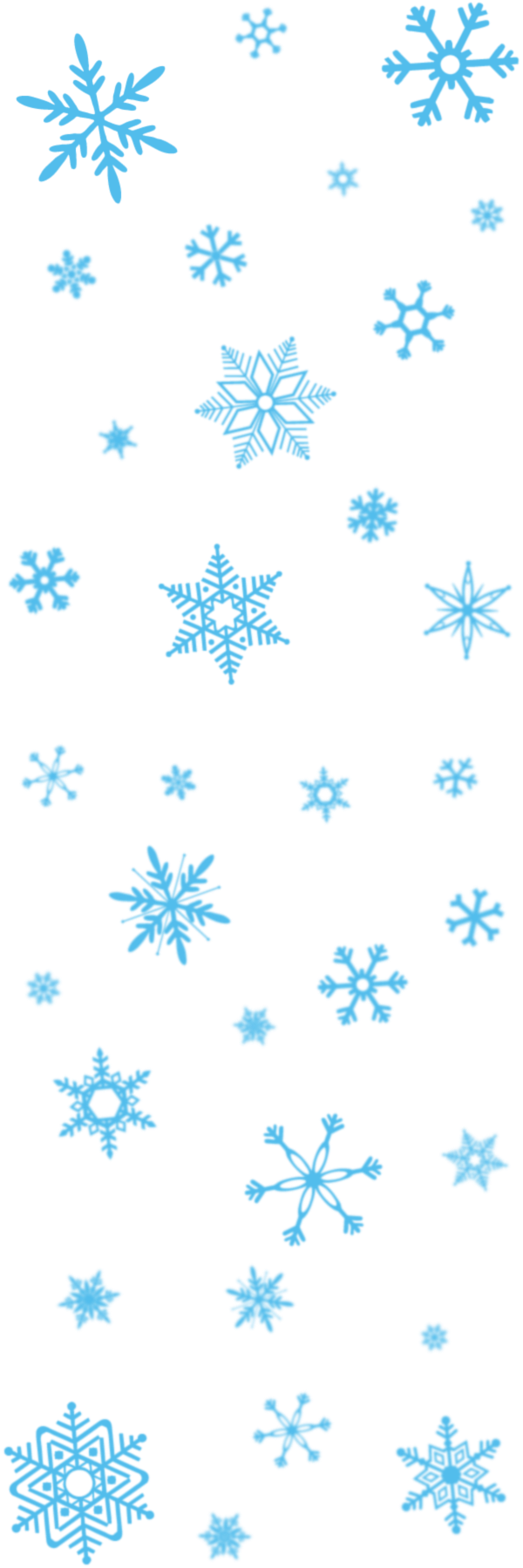 snowflakes png