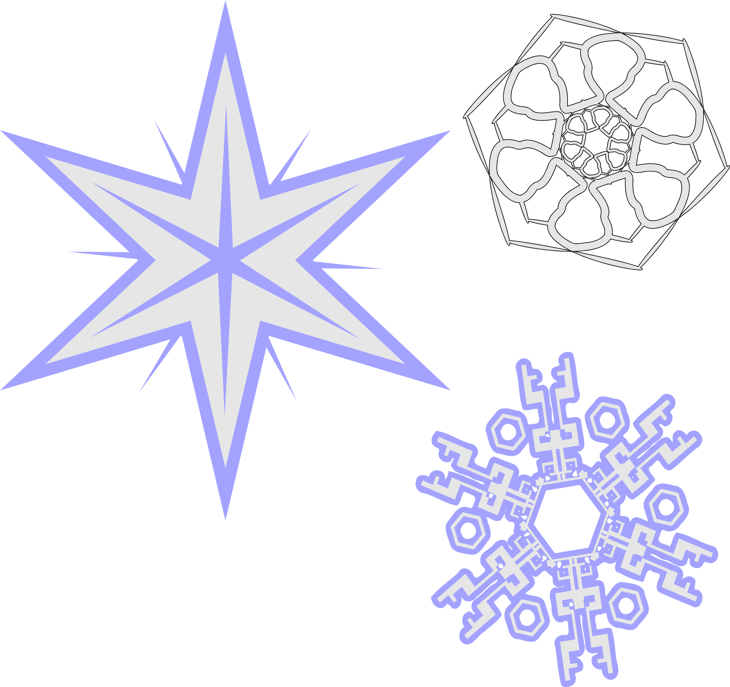 Snowflakes Png image #41279