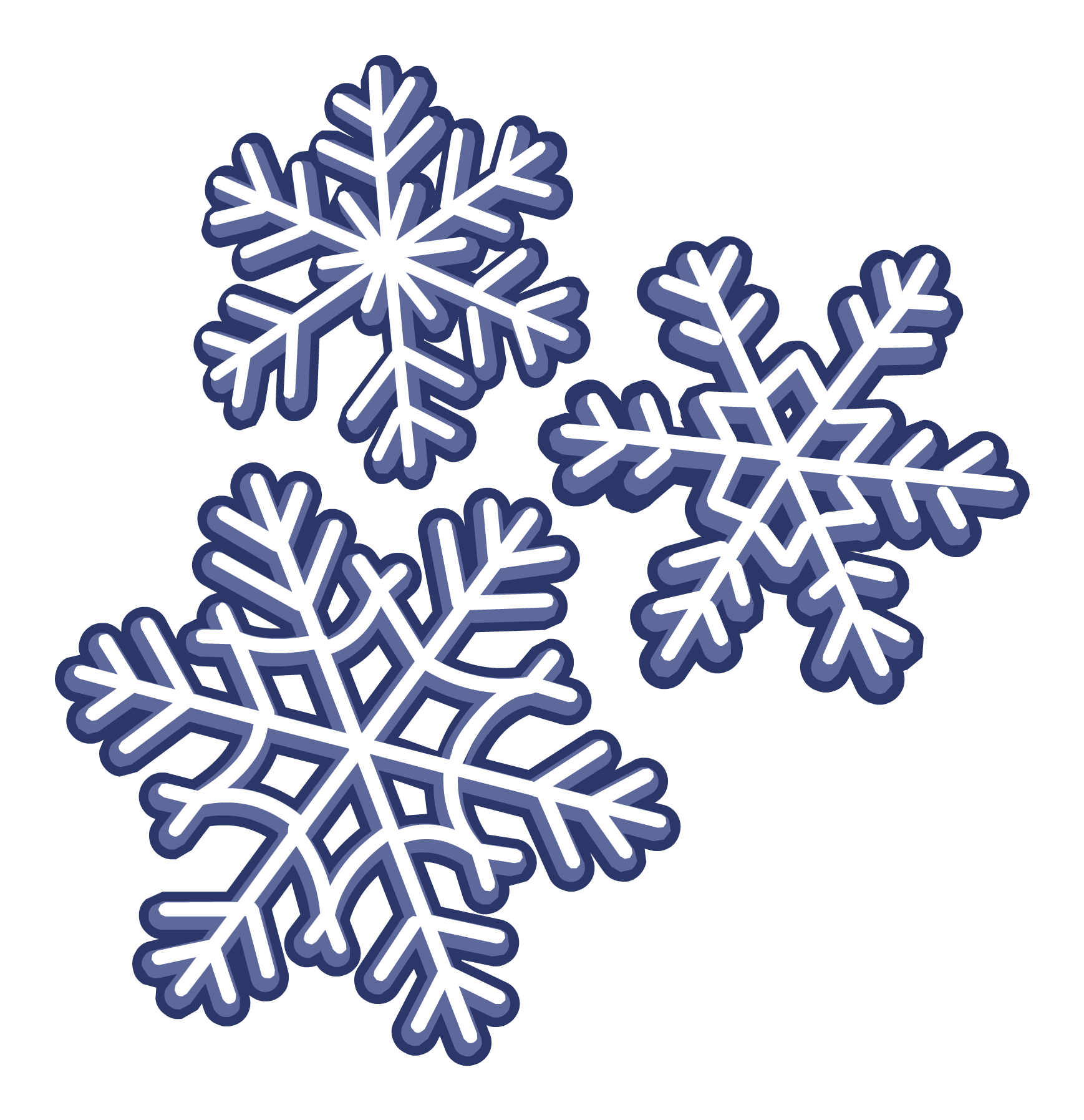 Snowflakes Png image #41281