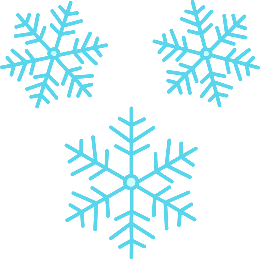 Snowflakes Png image #41287