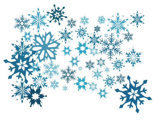 Transparent Image PNG Snowflakes image #41264