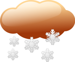 PNG Snowing Clipart