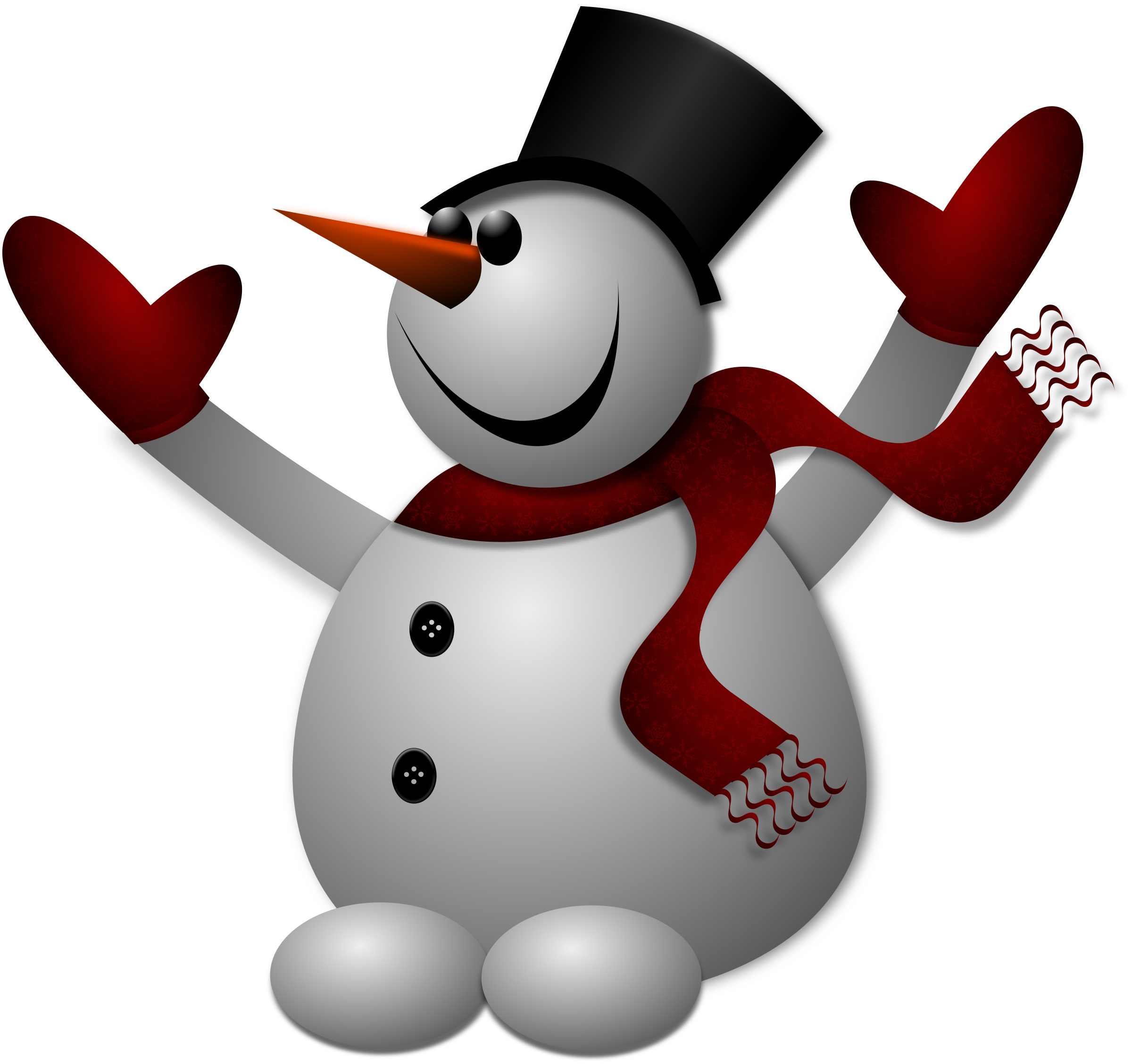 High-quality Snowman Cliparts For Free! image #30788
