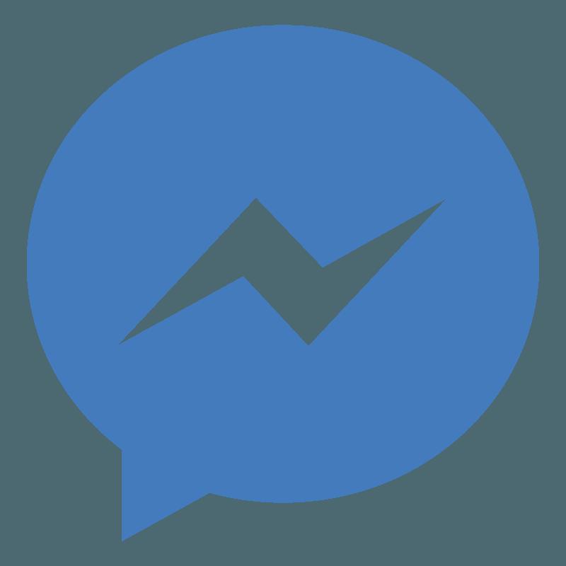 Social Facebook Messenger Png