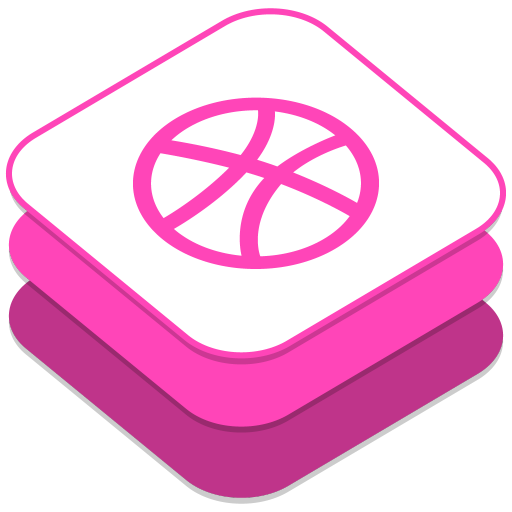 Icon Dribbble Drawing image #40184